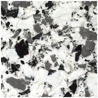 Decorative Flake Flooring Ash Grey Large